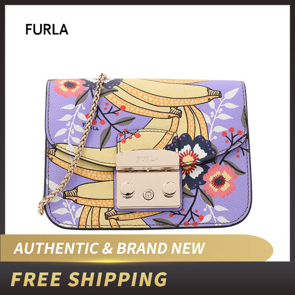 Authentic Original & Brand new Furla Metropolis Mini Crossbody Women's Bag Message Toni Leather BGZ7/BNA4 ship by USPS USA - 88digital