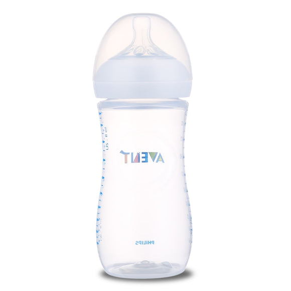 Avent 11oz / 330ml Baby Milk Feeding Bottle BPA Free 1 Pcs Heat-Resistant Baby PP Milk Bottle Training Feeding Drinking Cup - 88digital
