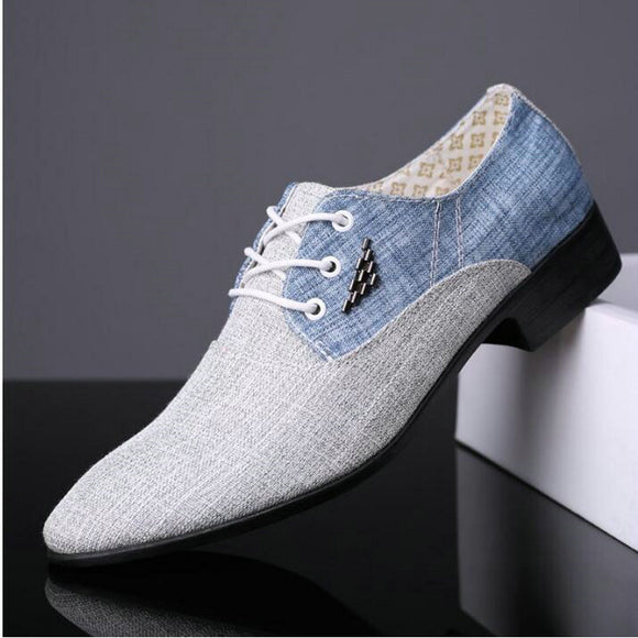 BIG SIZE fashion Men wedding Business dress shoes man Pointed toe brogue Bullock  office footwear shoes - 88digital