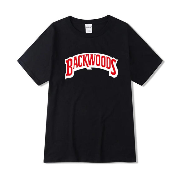 Backwoods t shirt Summer Fashion Casual Cotton Round Neck Short-sleeved T-shirt Harajuku Hip-Hop T-shirt Swag T shirt - 88digital