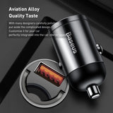 Baseus Quick Charge 4.0 3.0 USB C Car Charger For Xiaomi mi9 Huawei P30 Pro QC4.0 QC3.0 QC 5A Fast PD Car Charging Phone Charger - 88digital
