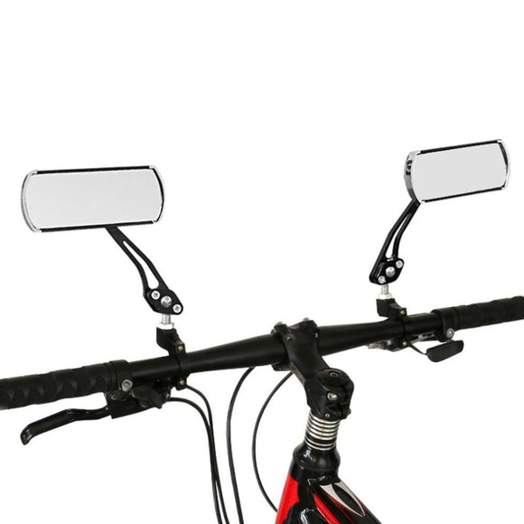 Bicycle Mountain Bike Handlebar Rearview Mirror Bicycle Modification Tool Aluminum Rearview Mirror Bicycle Safety Mirror - 88digital