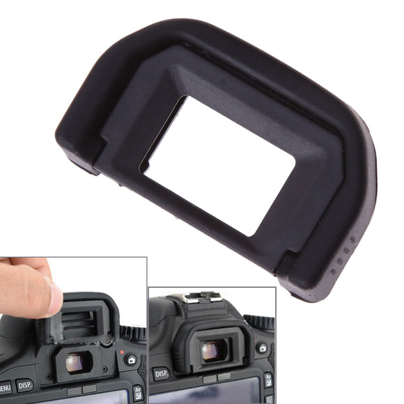 Black Viewfinder Rubber Eye Cup Replacement Eyepiece Eyecup Camera Eyes Patch For Canon EF 550D 500D 450D 1000D 400D 350D 600D - 88digital