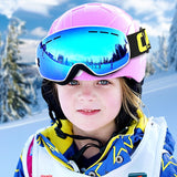 Kids Ski Goggles Small Size for Children Double UV400 anti-fog mask glasses skiing Girls Boys Snowboard goggles - 88digital