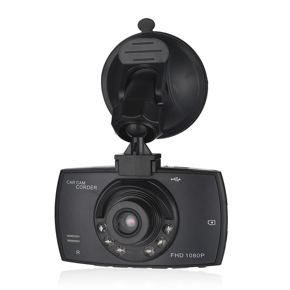Car DVR Camera Full HD 1080P 140 Degree Dashcam Video Registrars for Cars Night Vision G-Sensor Dash Cam - 88digital