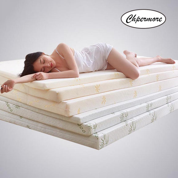 Thicken Memory Foam Mattress Foldable Slow rebound Tatami Cotton Mattress Cover Bedspreads King Queen Twin Full Size - 88digital