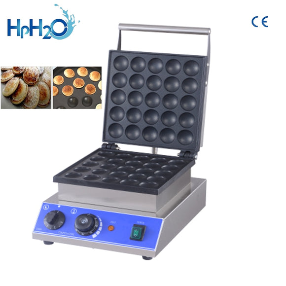 Commercial 25 Holes poffertjes grill maker small cake baking equipment mini pancake snack machine dorayaki machine 110V/220V - 88digital