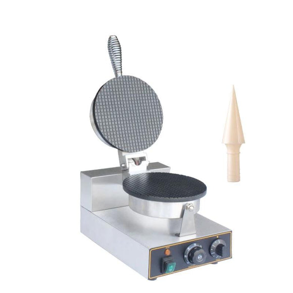 Commercial ice cream waffle cone maker waffle cone machine egg roll waffle iron baker Non-stick Crispy Crepe baking cake oven - 88digital