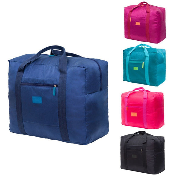 Convenient Fashion Folding Portable Travel Bag Nylon Waterproof Traveler Love Bag Large Capacity Hand Baggage Bag - 88digital