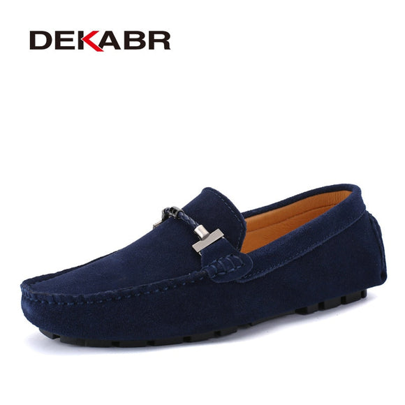 Trendy Men Casual Shoes Big Size 38-47 Brand Summer Driving Loafers Breathable Wholesale Man Soft Footwear Shoes For Men - 88digital