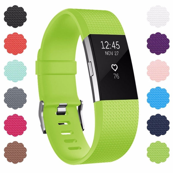 Strap Accessories For Fitbit Charge 2 Band Replacement Band For Fitbit Charge 2 Band Wristband For Fitbit Charge 2 - 88digital