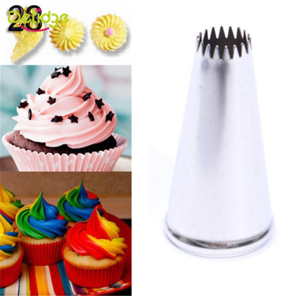 12 Shapes Cake Nozzle Stainless Steel Icing Piping Nozzles - 88digital