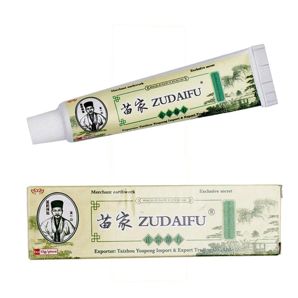Zudaifu Skin Psoriasis Cream Dermatitis Eczematoid Eczema Ointment Treatment Psoriasis Cream Skin Care Cream FREE SHIPPING - 88digital