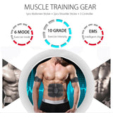 EMS Muscle Stimulator Trainer Smart Fitness Abdominal Training Electric Body Weight Loss Slimming Device WITHOUT RETAIL BOX - 88digital
