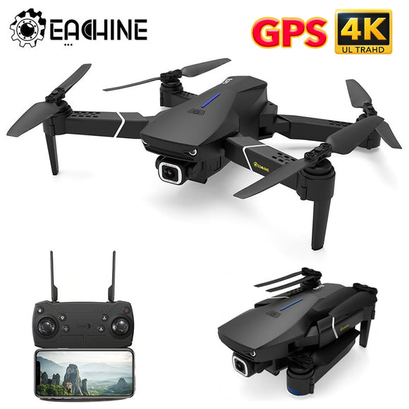 GPS FOLLOW ME WIFI FPV Quadcopter With 4K/1080P HD Wide Angle Camera Foldable Altitude Hold Durable RC Drone - 88digital