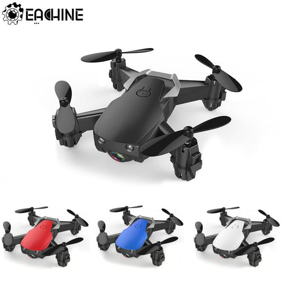 Mini Drone With/Without HD Camera Hight Hold Mode RC Quadcopter RTF WiFi FPV Foldable Helicopter - 88digital