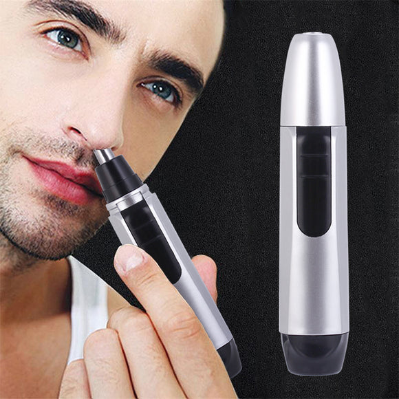 Electric Shaving Nose Ear Trimmer Safety Facial Care Nose Hair Trimmer for Men Shaving Hair Removal Razor Beard Cleaning Machine - 88digital
