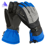 Extra Thick Warm Waterproof Ski Fleecy Gloves Windproof Winter Outside Sport Snowboard Snowmobile Motorcycle Riding Skid-Proof - 88digital