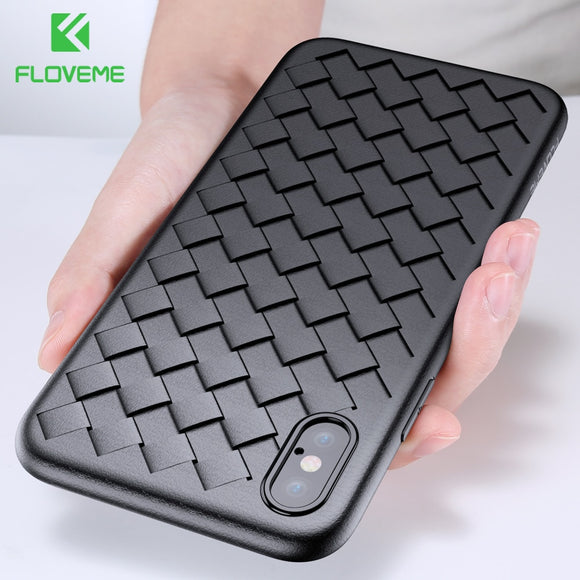 Soft Phone Case For iPhone 11 Pro Max Luxury Grid Cases For iPhone Cover Silicone Accessories - 88digital