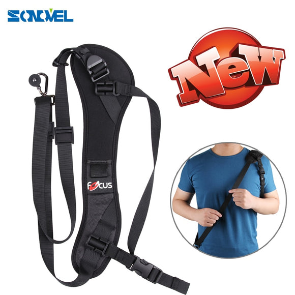 Focus F-1 F1 Anti-Slip Quick Rapid Shoulder Sling Belt Neck Strap for Camera DSLR for Canon Nikon Sony - 88digital