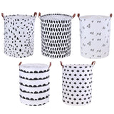 Foldable Laundry Storage Basket Clothes Storage Bag Dirty Laundry Basket Kids Toys Organizer Home Sundries Storage Barrel - 88digital
