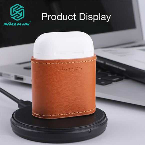 For AirPods Case bag qi Wireless Charging Protector Cover for AirPods Compatible with Qi wireless Charger charging case - 88digital