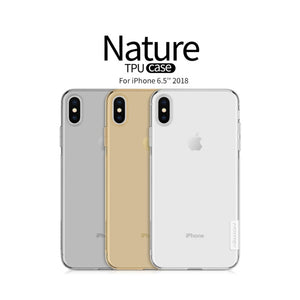 For iPhone Xs Max Case Cover 6.5 inch Nillkin Nature Transparent Clear Soft silicon Protector cover for iPhone xs plus cover tpu - 88digital