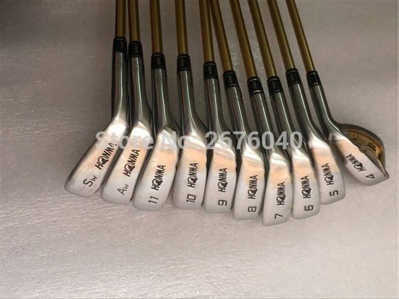 Golf Clubs honma s-06 4 star GOLF  irons clubs set 4-11Sw.Aw Golf iron club  Graphite Golf shaft R or S flex - 88digital