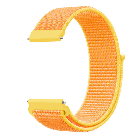 20mm 22mm Watch Nylon Band For Samsung Gear S3 Classic Frontier Sport Loop Wrist Band for Samsung Active/Galaxy Watch 46MM 42MM 3