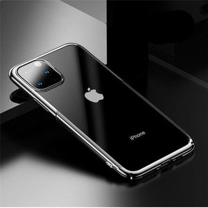 Baseus Ultra Thin Case For iPhone 11 Pro Case Luxury Transparent Phone Case For iPhone 11 Pro Max Cases Clear Back Phone Cover