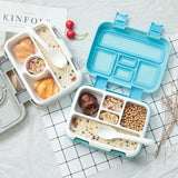 Microwave Lunch Box Portable Multiple Grids Bento Box for School Student Kids Children Dinnerware Food Storage Container USA