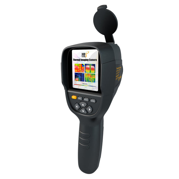 HT-19 Handheld Infrared Temperature Heat IR Digital Thermal Imager Detector Camera with storage 320x240 Resolution 3.2''