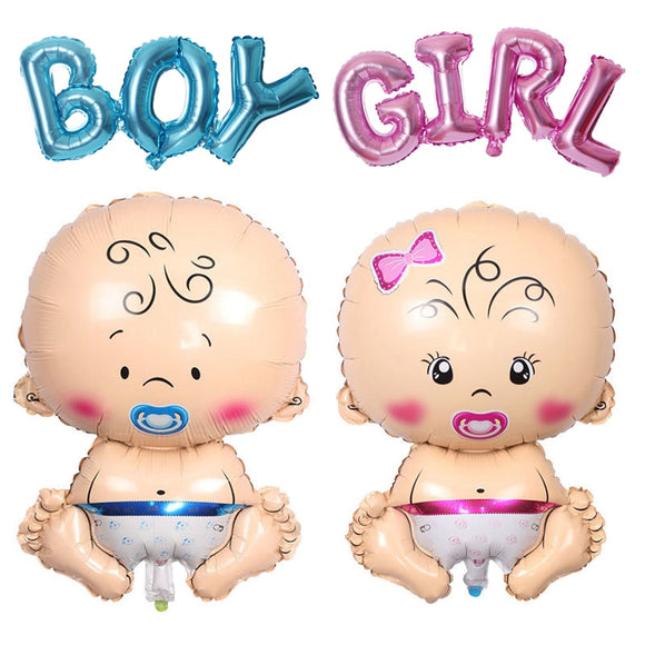 Baby Shower Decorations It's A Boy Girl Gender Reveal Balloon Large Baby Feeder Balloon Birthday Party Decorations Kids