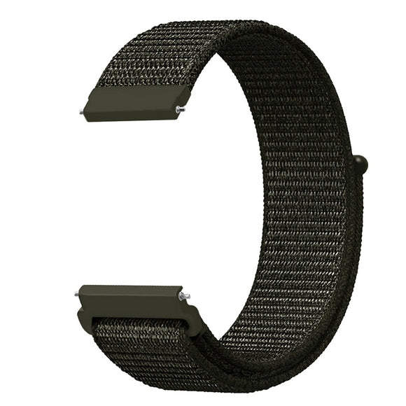 20mm 22mm Watch Nylon Band For Samsung Gear S3 Classic Frontier Sport Loop Wrist Band for Samsung Active/Galaxy Watch 46MM 42MM