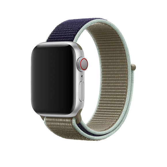 Band For Apple Watch Series 5/4/3/2  40MM 44MM Nylon Soft Breathable Replacement Strap Sport Loop for iwatch series 4 38MM 42MM