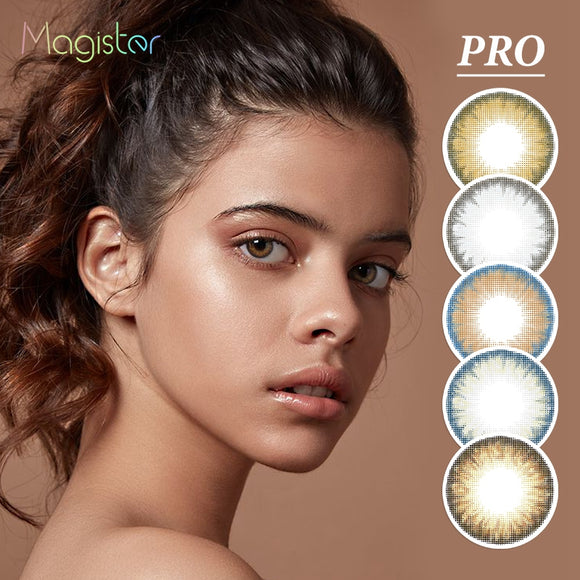 Magister PRO Series Colored Contact Lenses Annually Eye Color Lens Soft Yearly Color Contact Lens