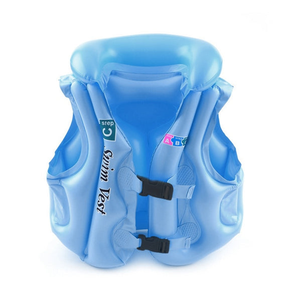 Summer Children Inflatable Swimming Life Jacket Buoyancy Safety Jackets Boating Drifting Lifesaving Vest Life Waistcoat