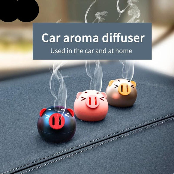 Baseus Mini Metal Car Air Freshener For Dashboard Auto Air Outlet Aromatherapy Car Diffuser Solid Perfume Flavoring For Car Home