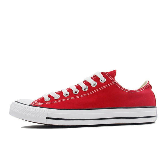 Converse ALL STAR Skateboard Shoes Man's and Woman's Low Top Classic Canvas Unisex Sneakers 101007