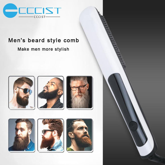Multifunctional Beard Shaping Styling Template Beard Comb Sandalwood Men Shaving Tools Comb for Hair Beard Trim Template Combs