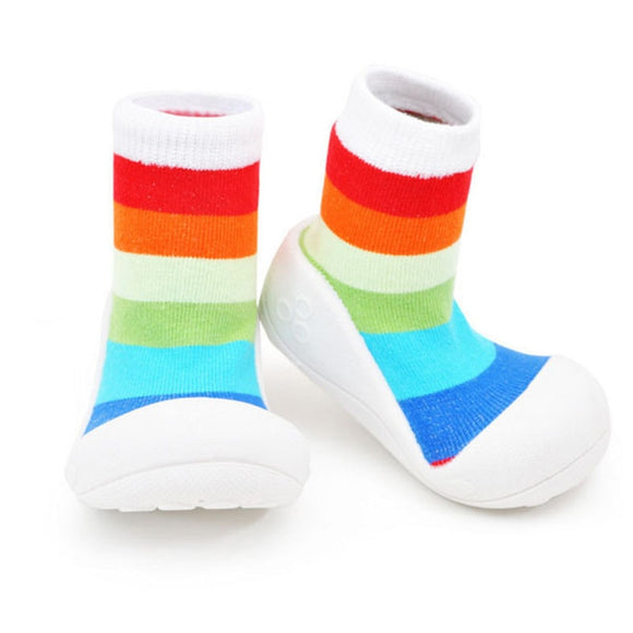 Baby Shoes Boy Girl Rubber Sneaker Cotton Soft Anti-Slip Sole Newborn Infant First Walkers Toddler Casual Outdoors Crib Shoes