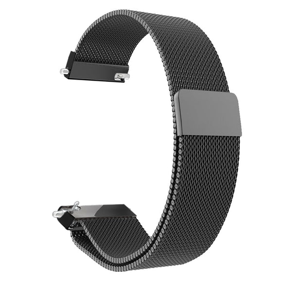 Smartwatch Bracelet Stainless Steel Milanese Loop Watch Band Magnetic Closure Wrist Strap Metal Replacement 16mm