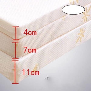 100% Memory Foam Mattress Foldable Slow rebound Tatami Cotton Mattress Cover Bedspreads King Queen Twin Full Size - 88digital