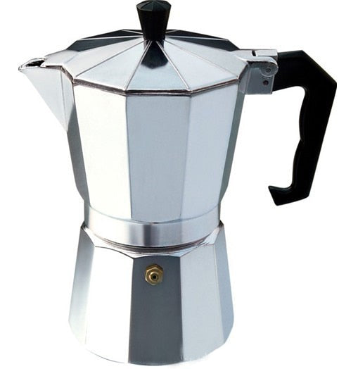 1/2/3/6/9/12cup Stovetop Moka Coffee Maker Italian Top Moka Espresso Cafetera Expresso Percolator Cafe Coffee Pot - 88digital