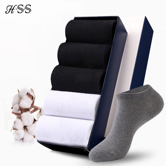 6Pairs/lot Men Cotton Socks Summer Thin Breathable Socks High Quality No Show Boat Socks Short Men - 88digital