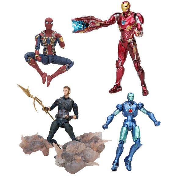Marvel Avengers Endgame THOR Action Figure Storm Breake KOs Iron Man Thanos Captain spider man Doll Toys