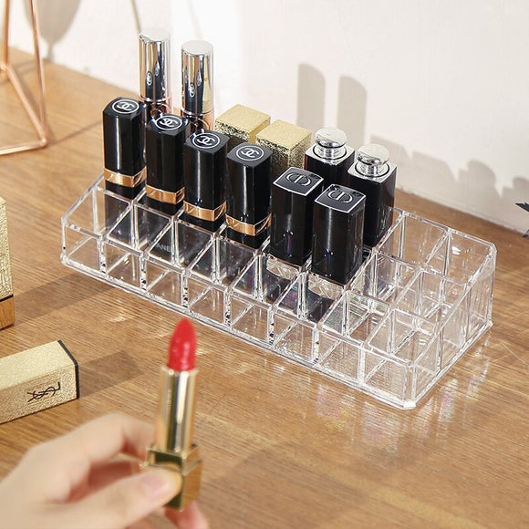 Acrylic organizer makeup tools Holder Cosmetic storage box Lipstick Display Rack  Jewelry Storage case