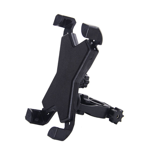 360 Degrees Rotatable Adjustable Motorcycle  Bicycle Handlebar Cradle Clamp for iPhone 8 8plus X  7 7plus 6 6s 6plus Samsung