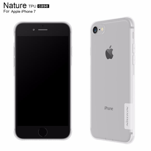 For iphone 7 cover case silicone TPU Transparent soft Silicon Cover Case 4.7 inch Nillkin phone case for iphone 7 case - 88digital