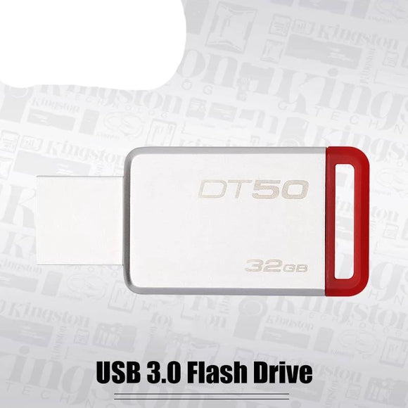Kingston Pendrive USB 3.0 Flash Drive 32GB USB 3.1 Stick Mental Pen Drive Trans  Read 32GB Memory Stick